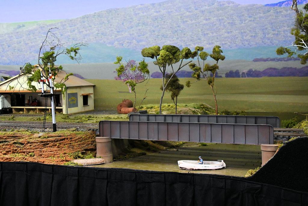 Bridge, Arakoola, Epping Model Railway Exhibition, Rosehill, Sydney, NSW.