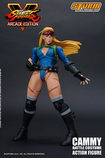 Storm Collectibles《快打旋風V ARCADE EDITION》殺人蜂「倩咪」登場!CAMMY – BATTLE COSTUME SFV ACTION FIGURE