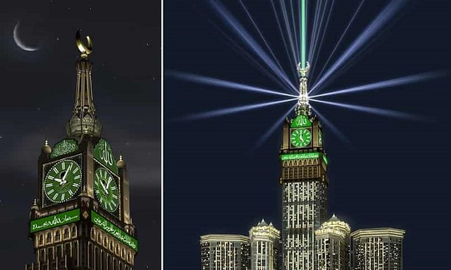 5184 Saudi Arabia to adopt new moon sighting system from Makkah Clock Tower