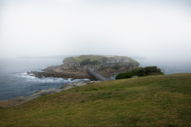 Morning Mist  Bare Island Fort