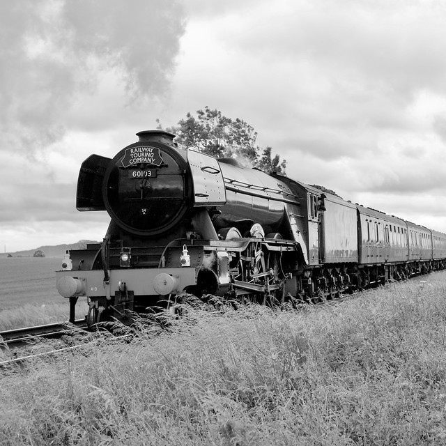 Flying Scotsman heading towards Worcester – Version 2