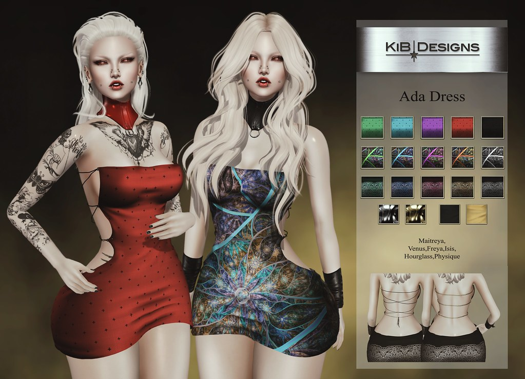 KiB Designs – Ada Dress @Suicide Dollz