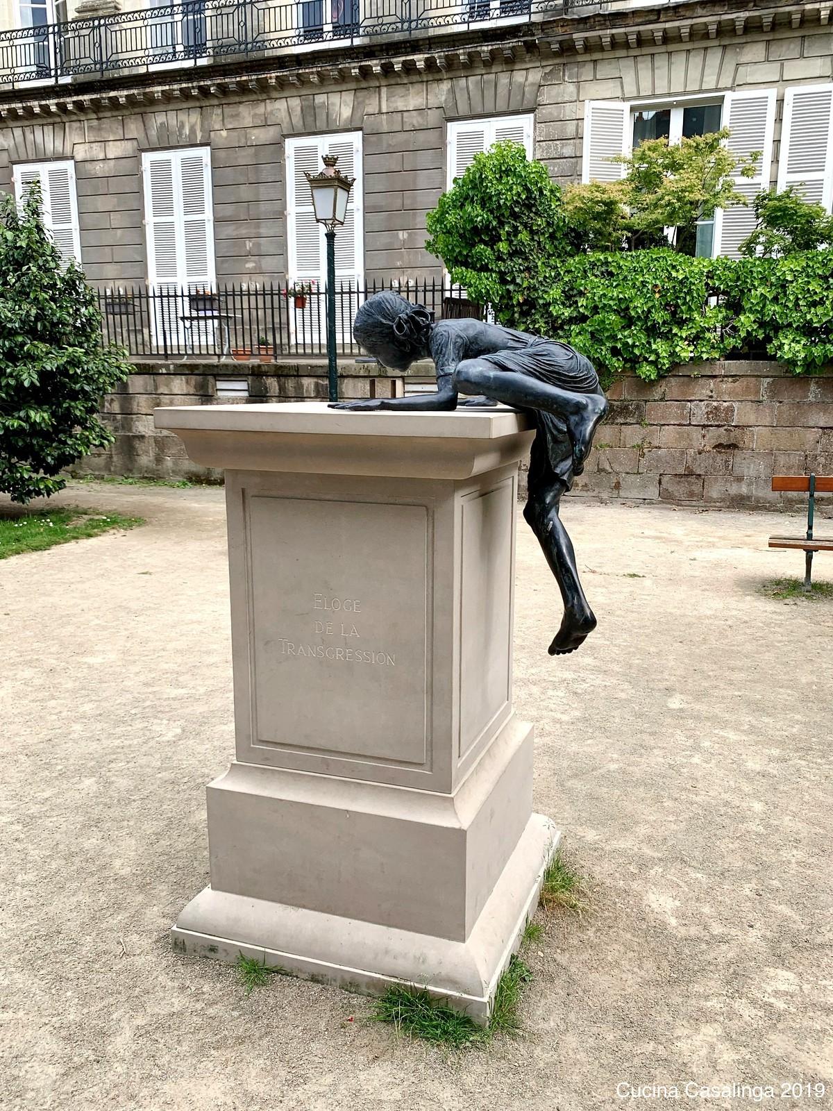 Nantes - Statue