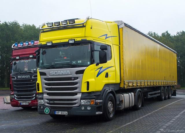 Scania R480 Topline & Scania R500 V8 Topline La Forza Auto (LV)