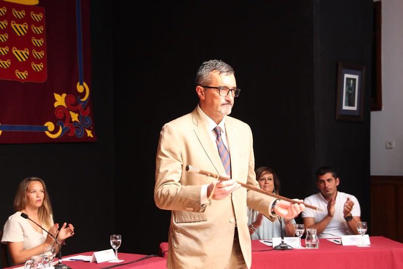 Marci Acuña, alcalde de Haría