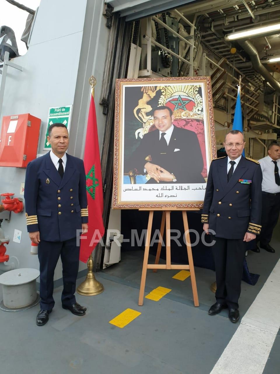 Participation de la frégate Tarik Ben Ziyad à l'Armada de Rouen 2019 48066646886_0f79e70b28_o