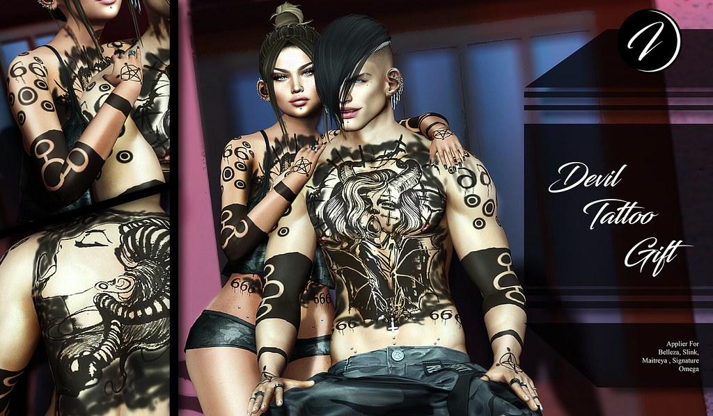 ..:: INKer ::.. Devil Tattoo Gift