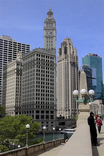 The Wrigley Building and Tribune Tower