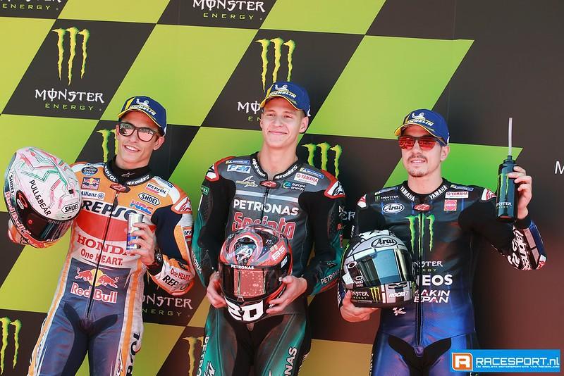 MotoGP top 3 kwalificatie
