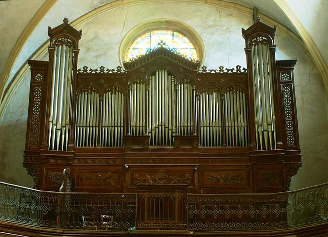 Orgue de l'église Saint Sauveur de Brignoles (Var France)