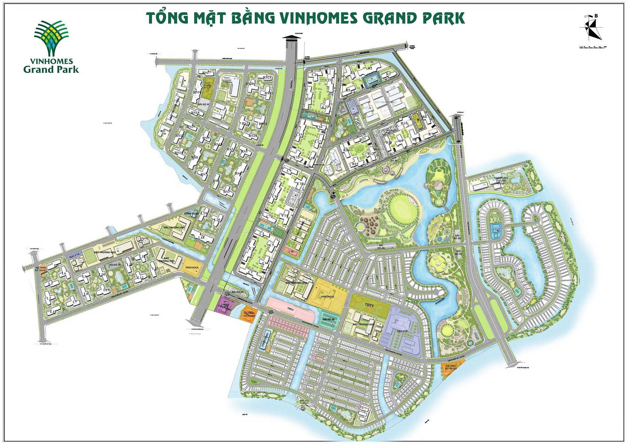 Phối cảnh dự án Vinhomes Grand Park Quận 9 3