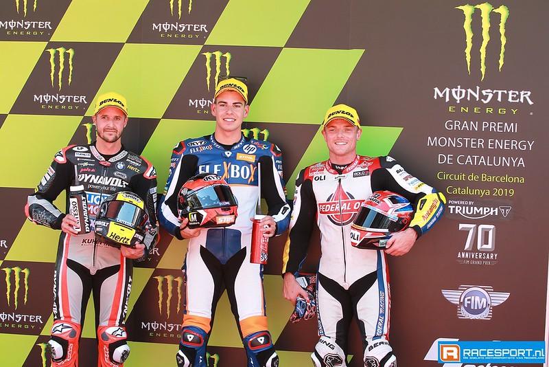 Top 3 Moto2 kwalificatie