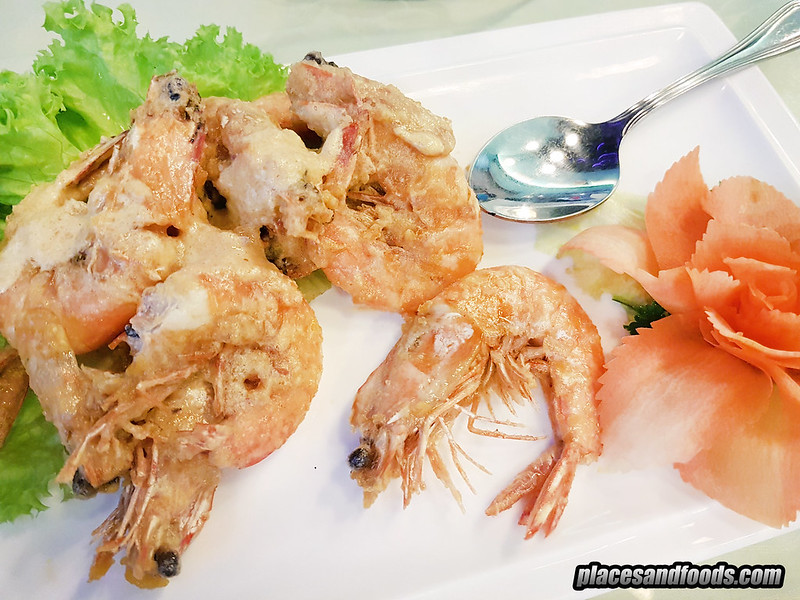 pangs kitchen taman desa salted egg prawns