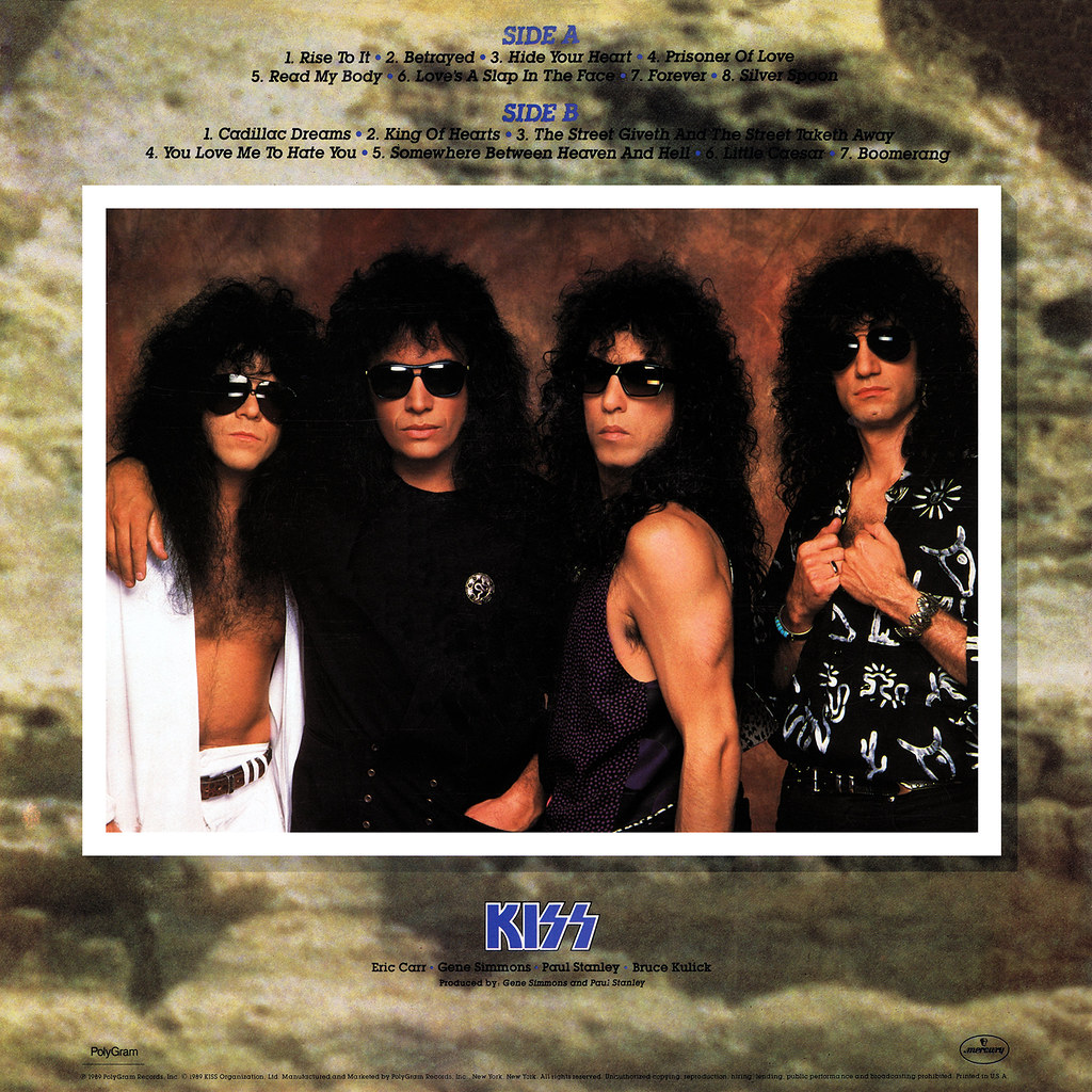 KISS - Hot In The Shade