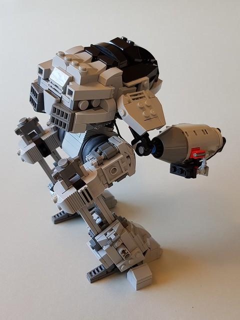 ED-209 Rear View