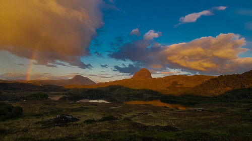 Suilven in evening sun