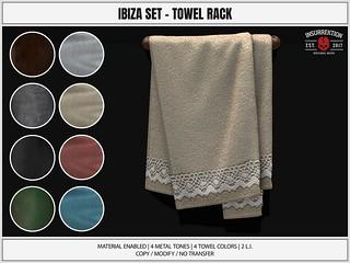[IK] Ibiza Set - Towel Rack