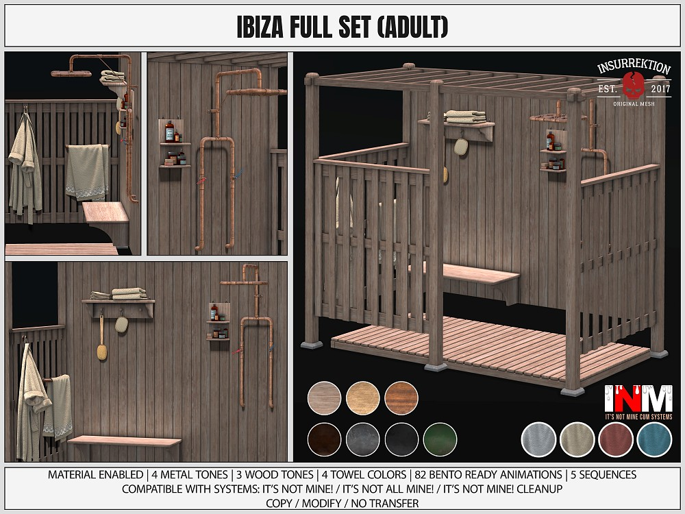 [IK] Ibiza Full Set Adult