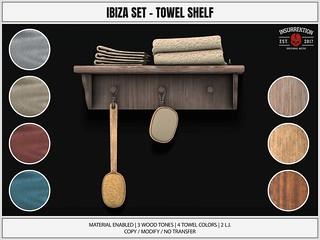[IK] Ibiza Set - Towel Shelf