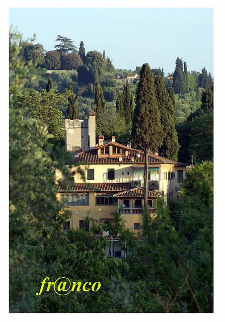 Villa sulla collina