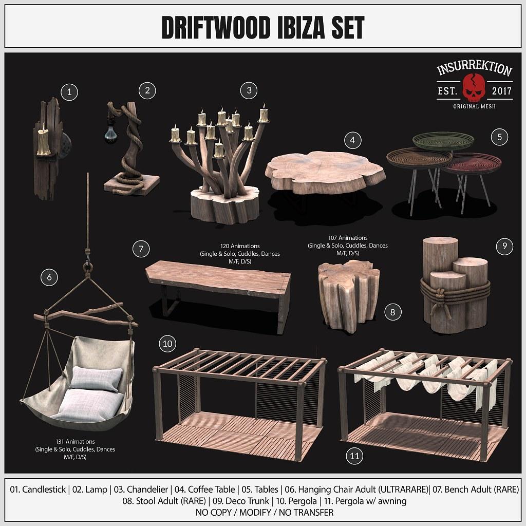 [IK] Driftwood Ibiza Set – Key