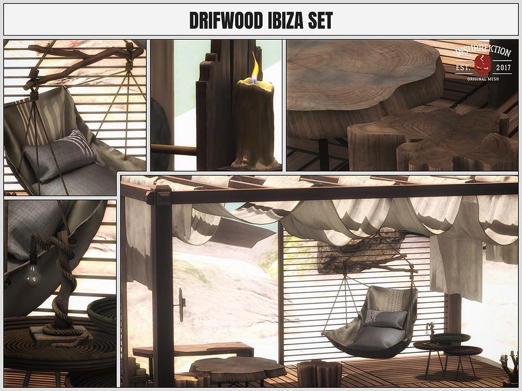 [IK] Driftwood Ibiza Set