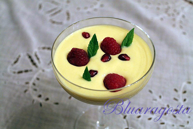 dessert light al mango