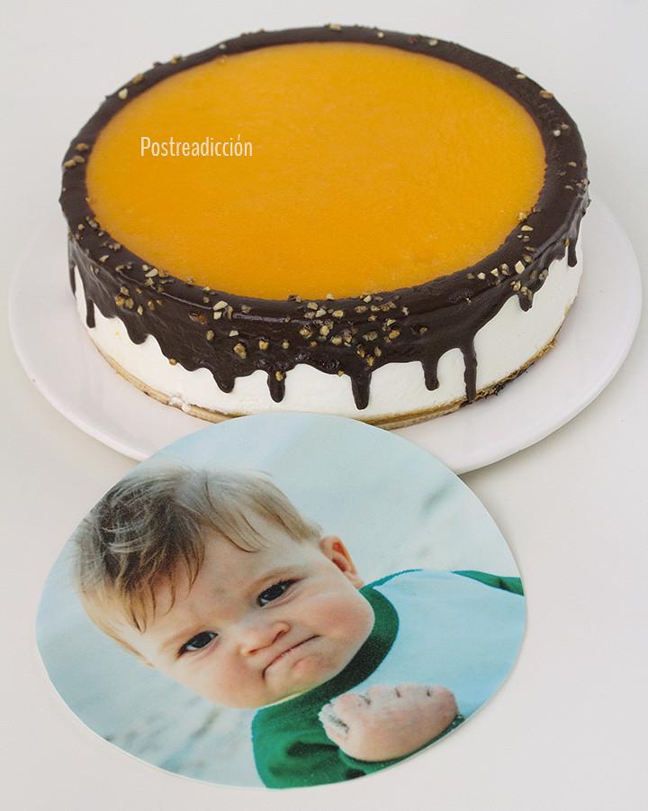 oblea personalizada tarta