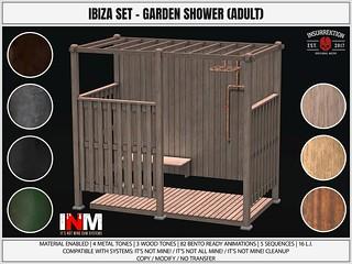 [IK] Ibiza Set - Garden Shower Adult