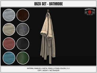 [IK] Ibiza Set - Bathrobe