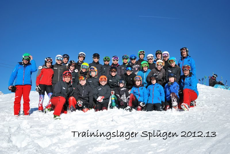 2013-01-01 Trainingslager Splügen