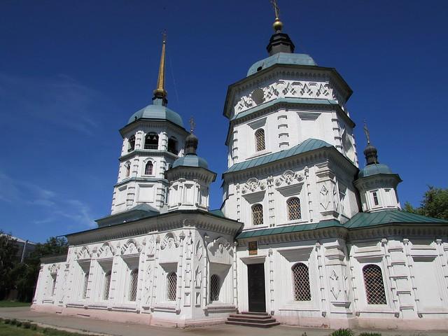 Irkutsk, Church of the Holy Trinity