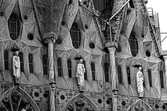 La Sagrada Familia - detail