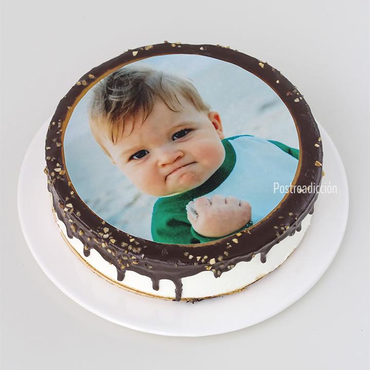 papel azucar tarta