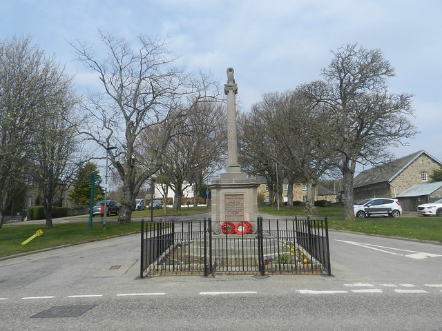 Knockando Parish War Memorial, Archiestown, April 2019