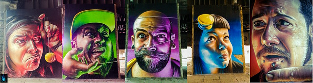 Five Faces by Smug