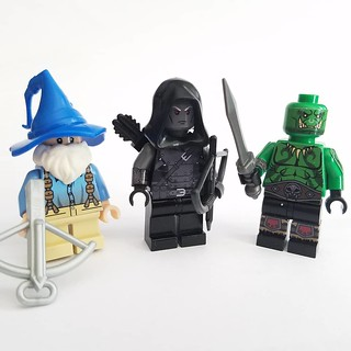 Various Fantasy Minifigs | by Saber-Scorpion