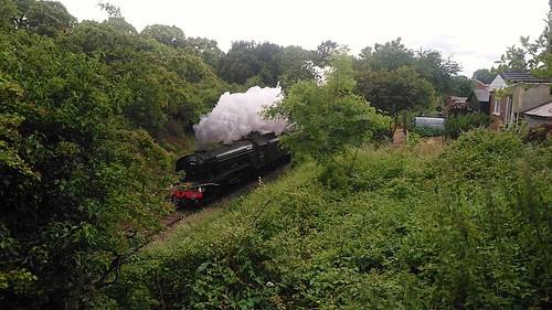 Flying scotsman steam train