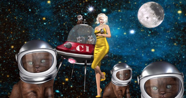 Marilyn And The Martians
