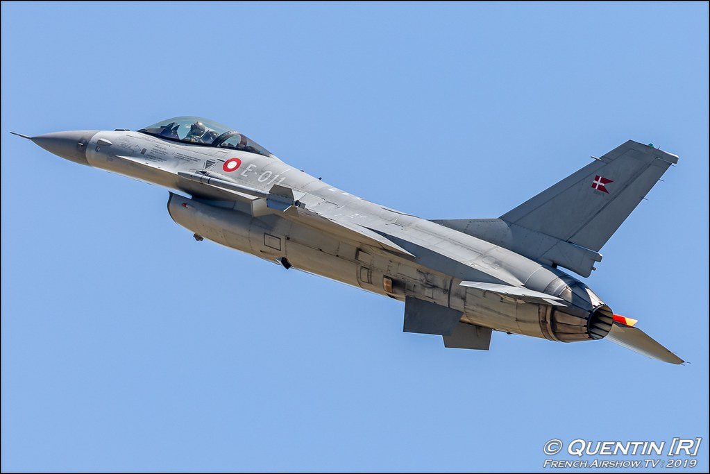 RDAF F-16 Solo Display Royal Danish Air Force Meeting de l'Air BA-115 Orange 2019 Canon Sigma France contemporary lens Meeting Aerien