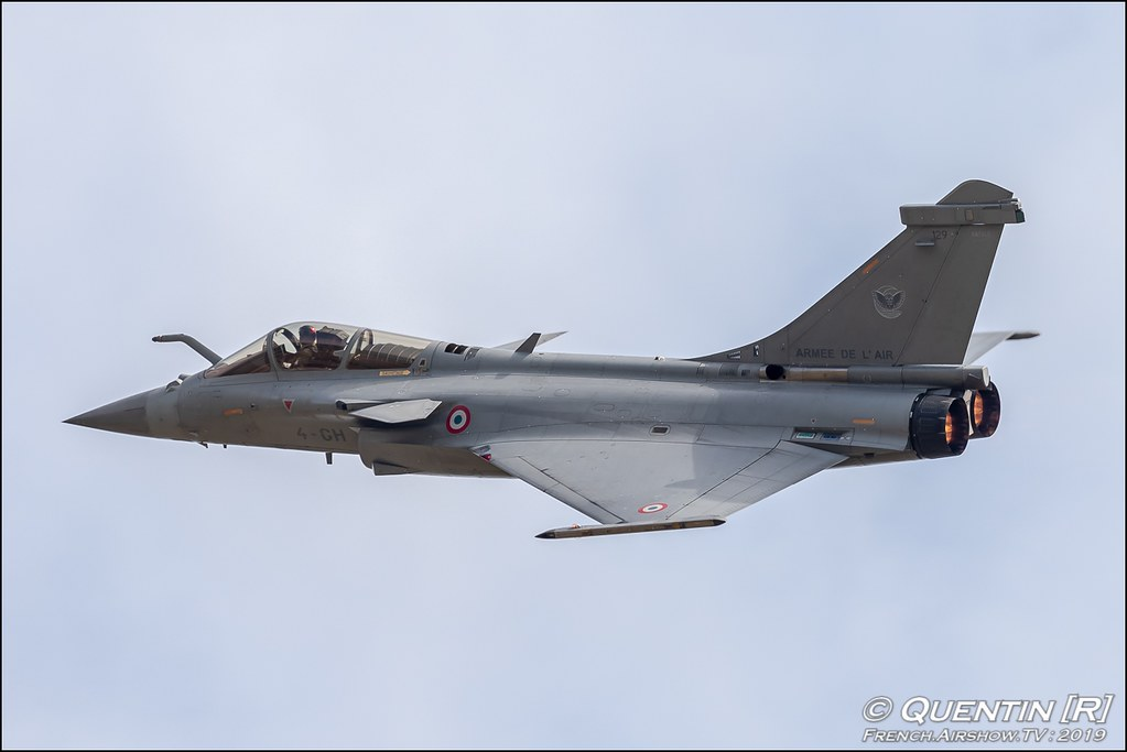 Rafale Solo Display Meeting de l'Air BA-115 Orange 2019 Canon Sigma France contemporary lens Meeting Aerien