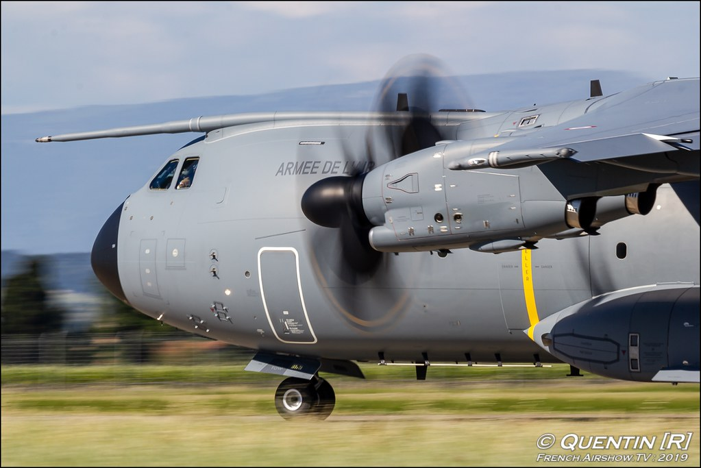 A400M Tactical Display Meeting de l'Air BA-115 Orange 2019 Canon Sigma France contemporary lens Meeting Aerien