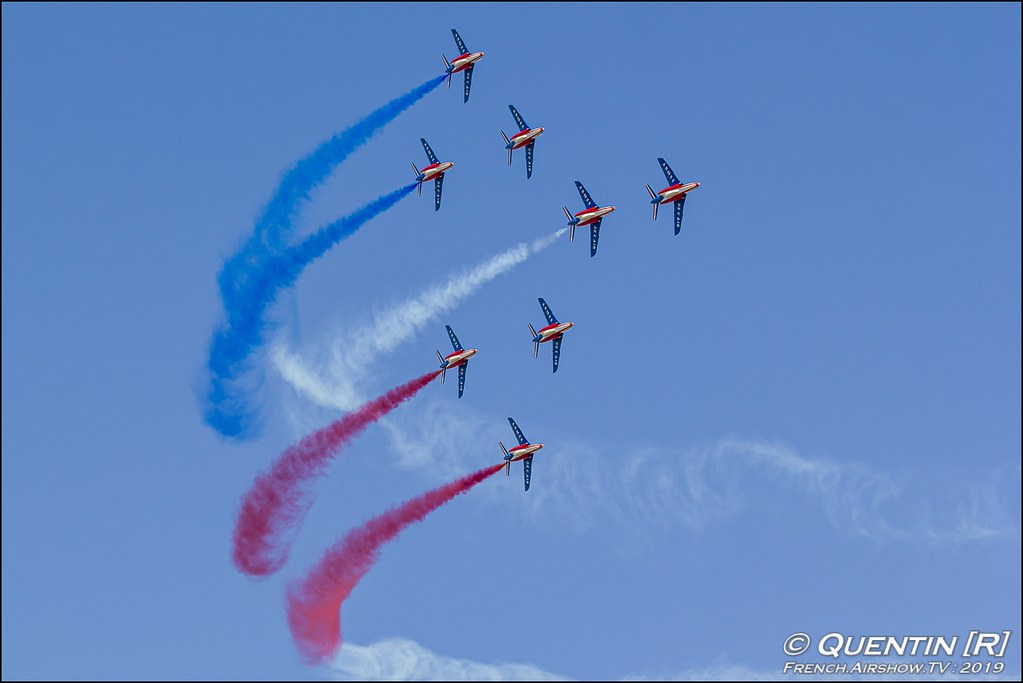 Patrouille de France Meeting de l'Air BA-115 Orange 2019 Canon Sigma France contemporary lens Meeting Aerien