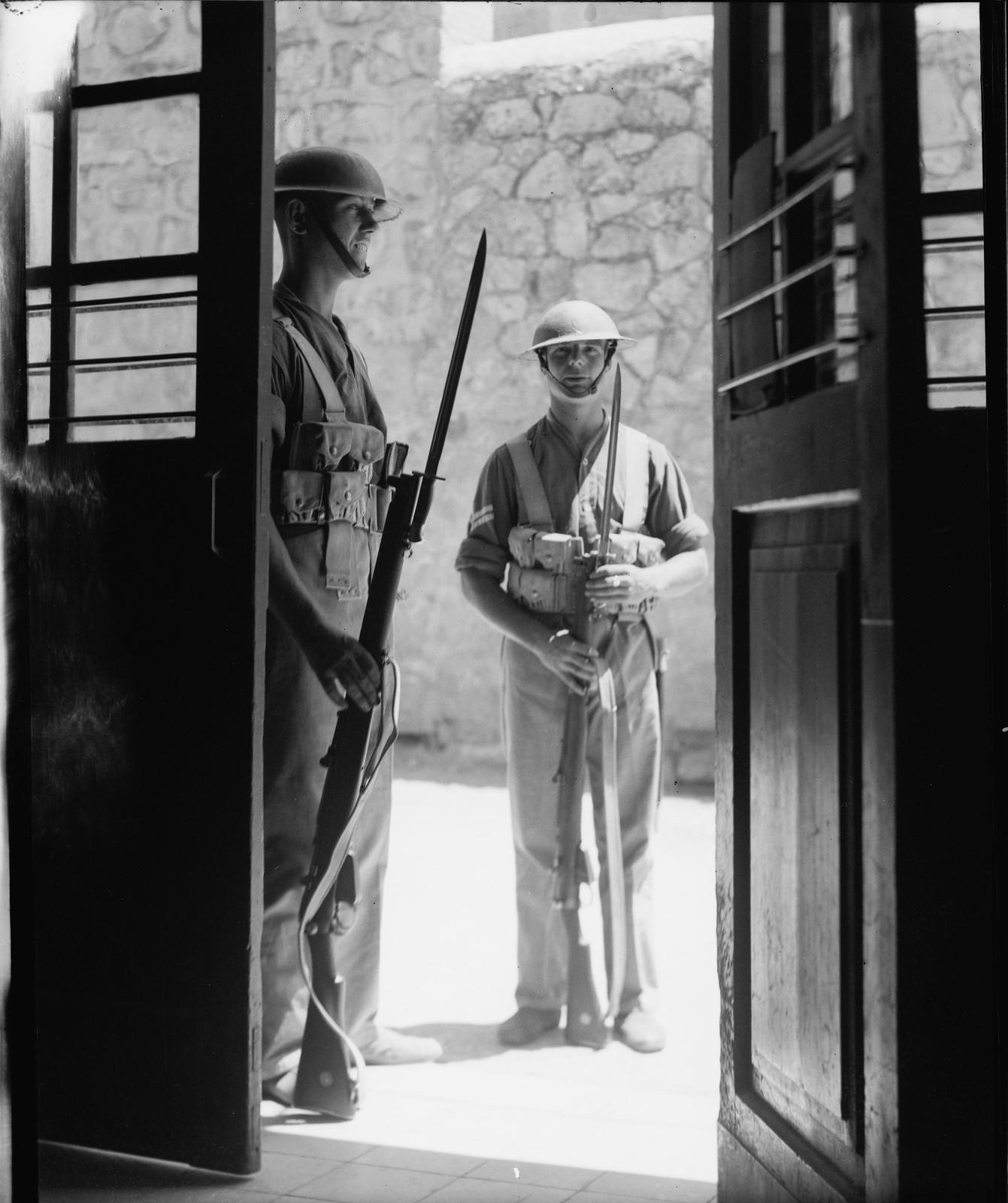 Иерусалим. Охрана почтового отделения