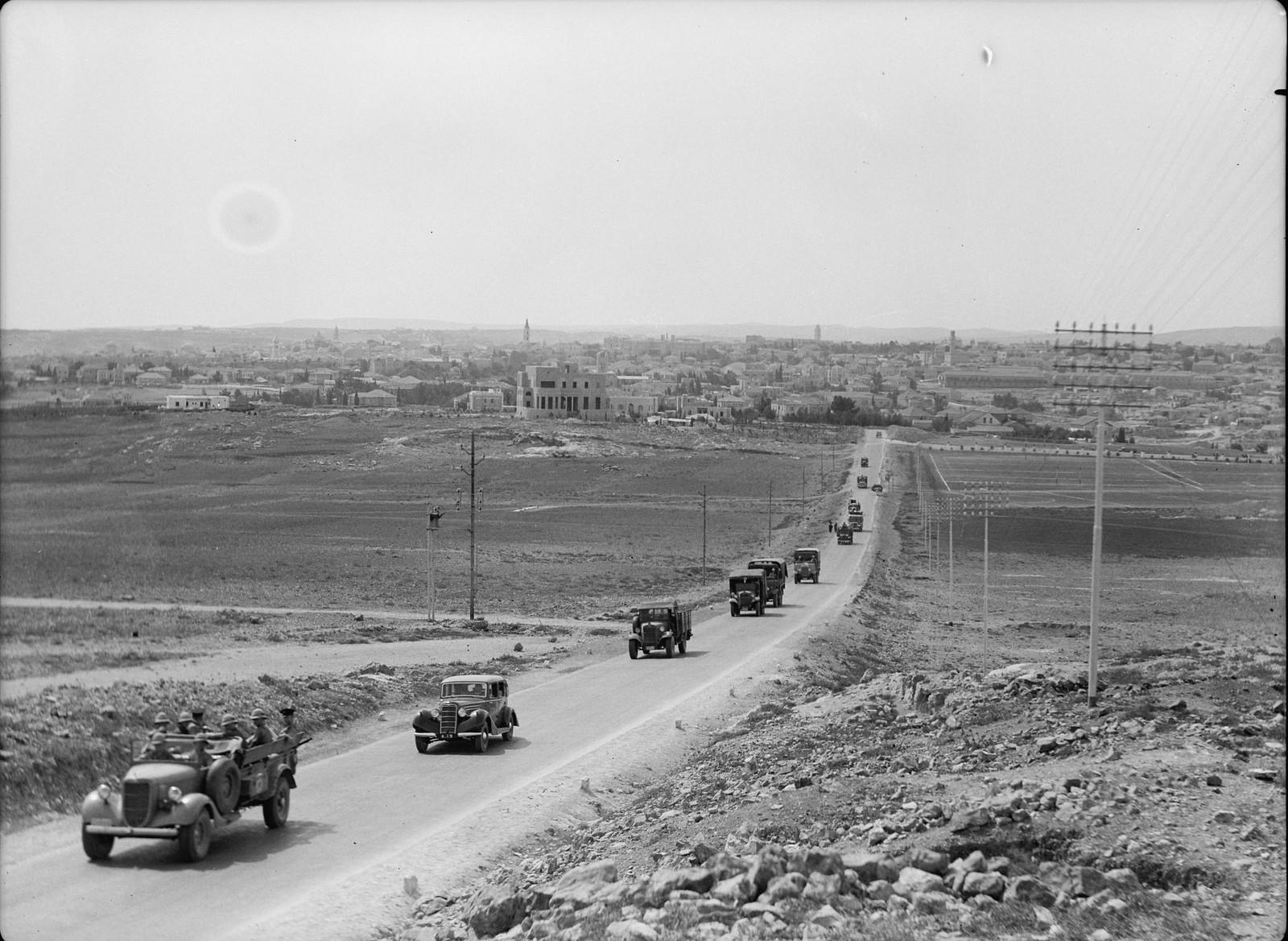 07. Ежедневно в 10.30 конвой Иерусалим-Афула отправляется на север