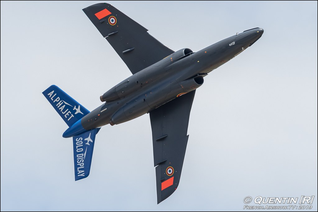Alphajet Solo Display Meeting de l'Air BA-115 Orange 2019 Canon Sigma France contemporary lens Meeting Aerien