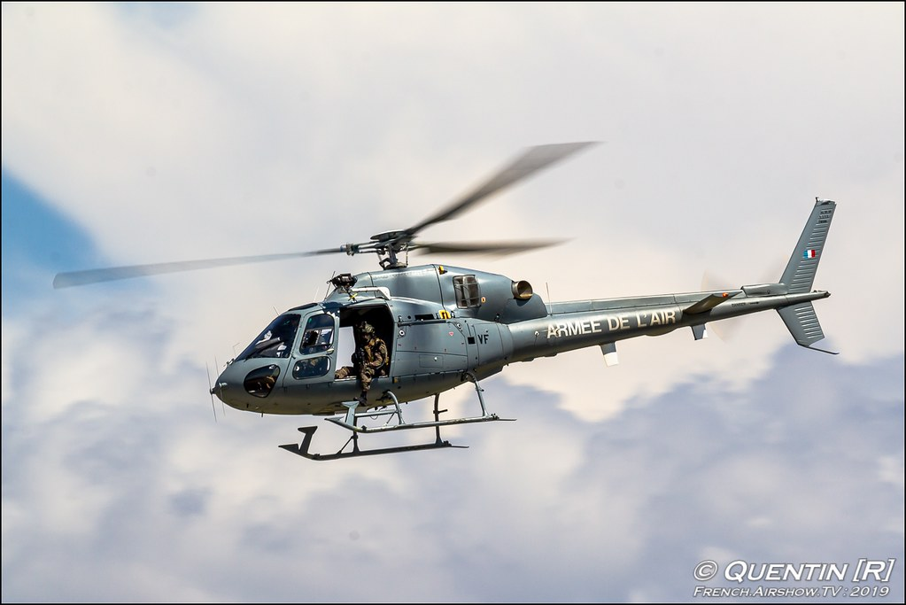 AS550 Fennec Armée de l'air Meeting de l'Air BA-115 Orange 2019 Canon Sigma France contemporary lens Meeting Aerien