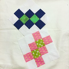 Unite Circle doGoodStitches Arrowhead Puzzle blocks for May 2019