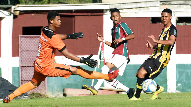 Sub-17 Fluminense x  V. Redonda 15/06/2019
