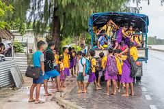 school bus loading-1